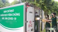Bộ CHQS tỉnh Nghệ An cấp phát 200 nghìn liều vaccine trên địa bàn toàn tỉnh