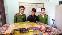 Công an Nghệ An bắt giữ gần 5 tấn pháo trước Tết Mậu Tuất