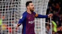 Messi ghi bàn giúp Barca vô địch sớm ba vòng; Ronaldo lập công giúp Juventus hòa Inter