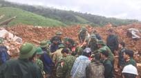 Đã tìm thấy 12 thi thể trong vụ núi lở vùi lấp 22 cán bộ, chiến sĩ tại Quảng Trị