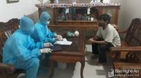 Người đàn ông ở Nghệ An đến trạm y tế nhận là F1 của bệnh nhân Covid-19