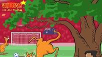 Cười nghiêng ngả biếm họa U23 Việt Nam tại VCK U23 châu Á