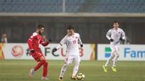 Cầm hòa Syria, U23 Việt Nam lập kỳ tích vào tứ kết U23 châu Á