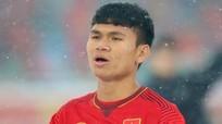 Phạm Xuân Mạnh và cảm xúc trong trận đầu khoác áo tuyển quốc gia