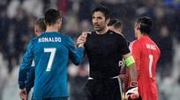 """HLV Juventus và Buffon """"tâm phục, khẩu phục"""" Cristiano Ronaldo"""
