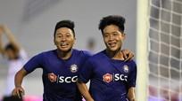 """Em trai Phi Sơn """"nổ súng"""", HLV Hồng Tiến ra mắt trọn vẹn ở giải hạng Nhì"""