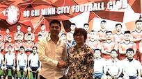 Phủ nhận giải thể, CLB TP.HCM ra mắt tân chủ tịch Nguyễn Hữu Thắng