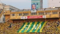 Vòng đấu 21 - V.League 2018: Hội CĐV SLNA chuẩn bị 5.000 lá cờ nhuộm vàng Hàng Đẫy