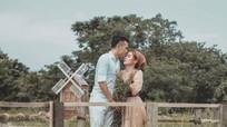 Bộ ảnh cưới lãng mạn của tiền vệ Ngô Hoàng Thịnh