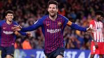 HAGL thua 3 trận liên tiếp tại V.League; Messi vượt kỷ lục Casillas