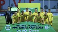Sông Lam Nghệ An sớm 'buông' Cúp Quốc gia 2021