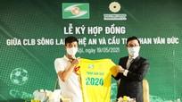Sông Lam Nghệ An chính thức gia hạn với Phan Văn Đức