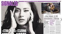Ngô Thanh Vân xuất hiện trên trang bìa tạp chí hàng đầu Na Uy