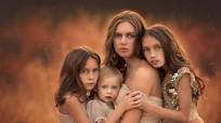 Bà mẹ 11 con truyền cảm hứng bằng những bức ảnh chụp con hàng ngày