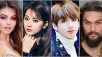 10 gương mặt đẹp nhất thế giới năm 2018