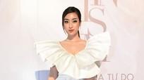 Hoa hậu Đỗ Mỹ Linh, Tóc Tiên mặc nữ tính đẹp nhất tuần