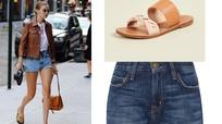 Gợi ý cách phối quần shorts với giày, dép bệt cực kỳ dễ thương