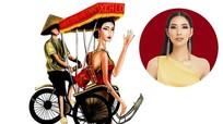 Ý tưởng trang phục dân tộc cho Hoàng Thùy thi Miss Universe