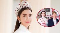 Hoa hậu Du lịch thế giới 2018 cùng Công Phượng về thăm trường cũ