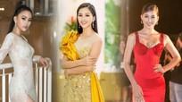 Hoa hậu Tiểu Vy tạo sức hút với mốt váy xẻ cao