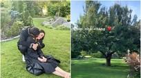 Hồ Ngọc Hà chia sẻ hình ảnh thân mật cùng Kim Lý ở Thụy Điển