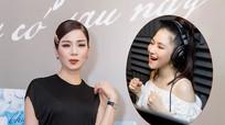 Lệ Quyên thay mặt Hương Tràm tại buổi họp báo ra mắt MV mới
