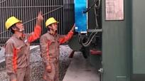 Nghệ An: Đóng điện thành công máy biến áp T2 Trạm biến áp 110kV Hoàng Mai