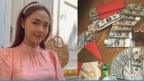 Sao Việt khoe tiền mừng Tết, Phan Mạnh Quỳnh lì xì bạn gái 123 triệu