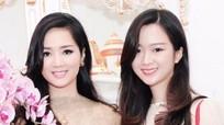 Hoa hậu U50 Giáng My lại 'gây sốt' khi đọ vẻ đẹp như 'chị em' với con gái tuổi 25