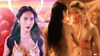 Tranh cãi hình ảnh Thủy Tiên bán khỏa thân táo bạo trong MV mới