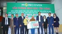 Bảo hiểm quân đội MIC và Moncover tổ chức Lễ chi trả quyền lợi bảo hiểm cho khách hàng M_Care