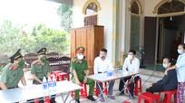 Bộ Công an, Công an tỉnh Nghệ An hỗ trợ 100 triệu đồng cho gia đình Trung úy Nguyễn Văn Chiến