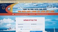 Làm thế nào để tham gia Cuộc thi trực tuyến 'Tìm hiểu Luật Cảnh sát biển Việt Nam'?