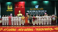 Đại hội đại biểu phụ nữ Công an tỉnh Nghệ An lần thứ XIV, nhiệm kỳ 2021 - 2026