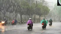 Dự báo thời tiết ngày 9/5: Nghệ An có mưa rào và dông, đề phòng lốc, sét, mưa đá