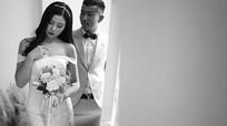 Bộ ảnh cưới siêu lãng mạn của hậu vệ người Nghệ và nữ cổ động viên đất Mỏ