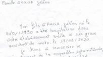 Xúc động lá thư của người mẹ từ Pháp gửi sang cảm ơn bác sĩ Việt
