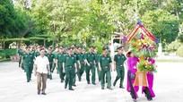 Đảng bộ Quân sự tỉnh dâng hương tưởng niệm các anh hùng liệt sỹ