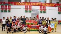 U11 SLNA vô địch: Thành quả đầu tay của cựu thủ môn U16 Việt Nam