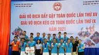 Nghệ An giành 16 huy chương tại giải vô địch kéo co toàn quốc lần  thứ IX