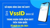 Từ ngày 1/6, chính thức sử dụng hình thẻ BHYT trên ứng dụng VssID-BHXH số để khám, chữa bệnh BHYT