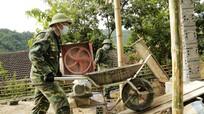 Bộ đội Biên phòng Nghệ An chung tay xây mái ấm cho hộ nghèo