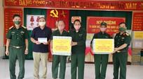 Bộ CHQS tỉnh thăm, tặng quà các đối tượng chính sách nhân ngày 27/7