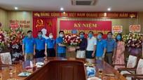 LĐLĐ tỉnh chúc mừng ngành Tuyên giáo nhân ngày truyền thống