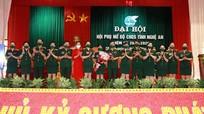 Hội Phụ nữ Bộ Chỉ huy Quân sự tỉnh tổ chức Đại hội nhiệm kỳ 2021 - 2026