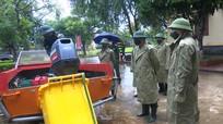 Bộ Tư lệnh Quân khu 4 kiểm tra công tác chuẩn bị ứng cứu với mưa lũ tại Nghệ An