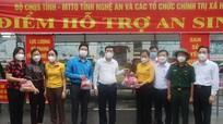 Nghệ An: mở điểm hỗ trợ công dân từ miền Nam về quê tránh dịch