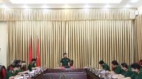Bộ Chỉ huy Quân sự tỉnh triển khai phương án đón công dân trở về từ vùng dịch phía Nam