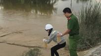 Công ty Cổ phần cấp nước Nghệ An xả bùn thải ra hồ điều hòa Cửa Nam