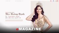 Từ 'hoa khôi làng' đến sân chơi quốc tế của nữ người mẫu trẻ quê Nghệ
